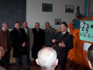 Zwiedzanie OSNiP i spotkanie opłatkowe - 09.12.2006r.