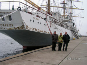 Zwiedzanie Akademii Morskiej i spotkanie opłatkowe