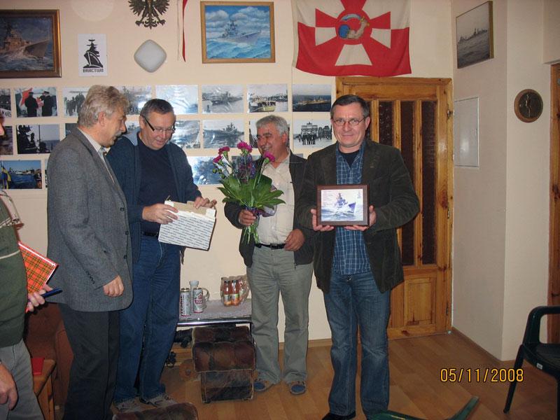 Posiedzenie Zarządu Bractwa – 05.11.2008r.