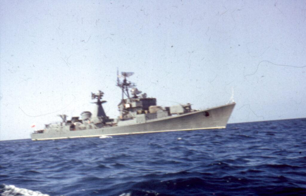 275 Niszczyciel rakietowy pr. 56AE