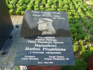 Wyjazdowe posiedzenie Związku Piłsudczyków RP - 09.07.2011r.