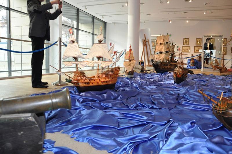 Zwiedzanie Muzeum Marynarki Wojennej – spotkanie opłatkowe – 08.12.2012r.