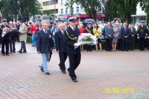 Obchody Święta Wojska Polskiego - 15.08.2013r.